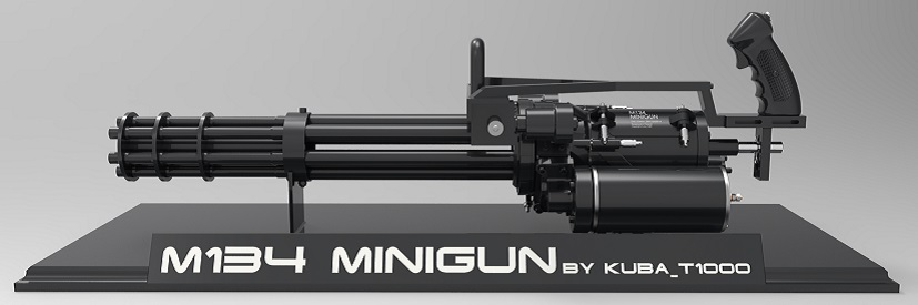M134 Minigun by Kuba_T1000 - Slider Image