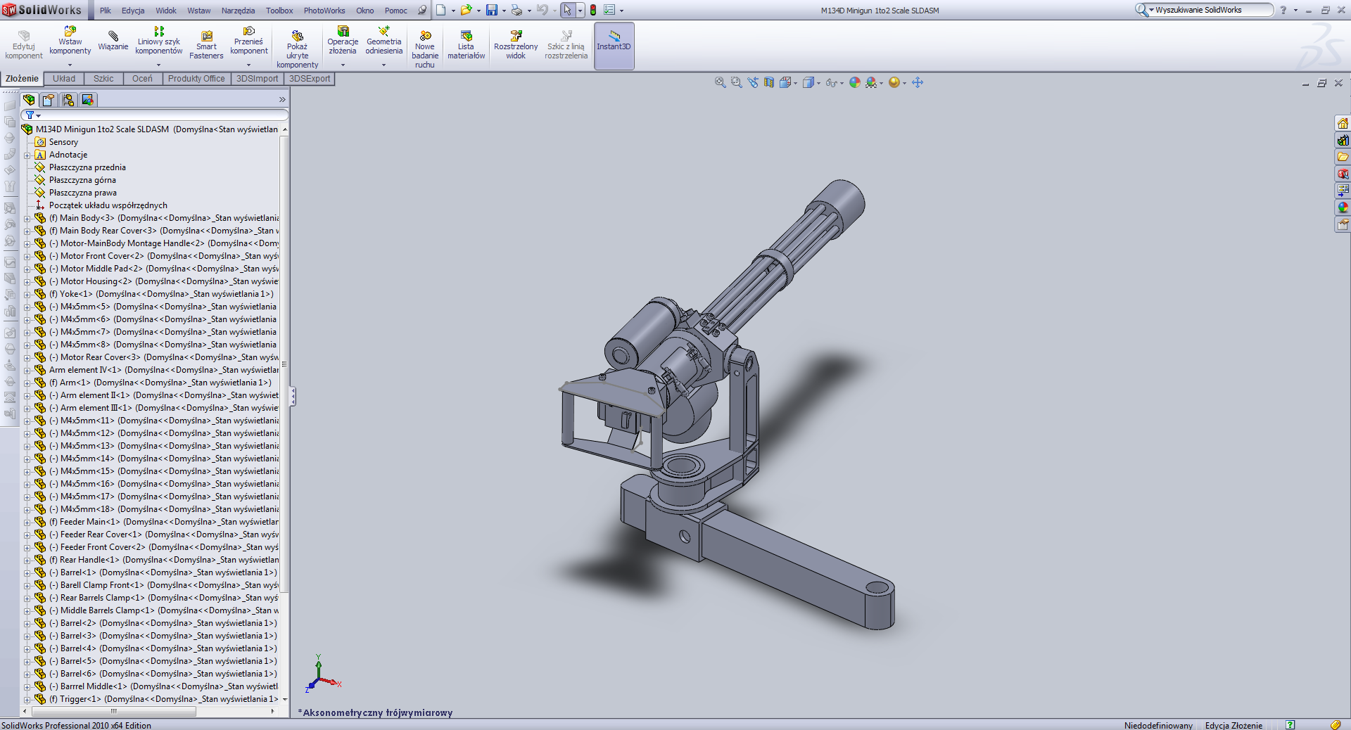 3d model ac motor is an electric motor driven | cad flie for.