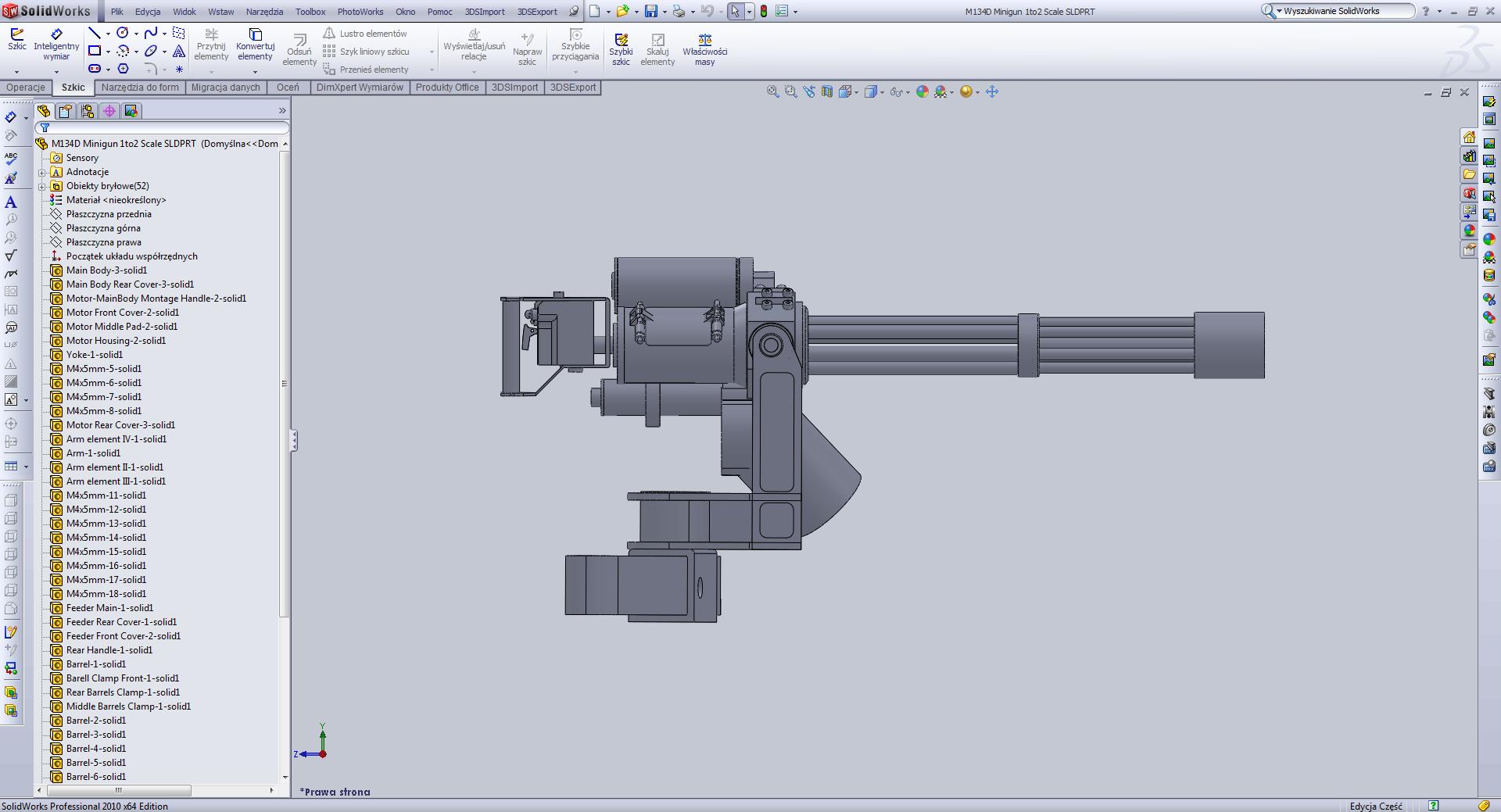 3d m134d minigun model specification.